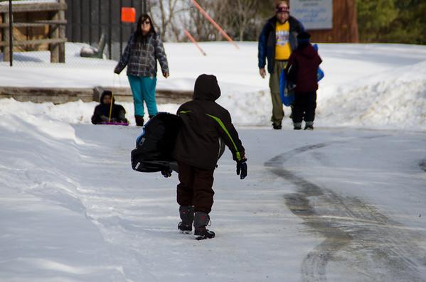Pack Overnight Trip - Winter Retreat Jan 2011 Pack 300
