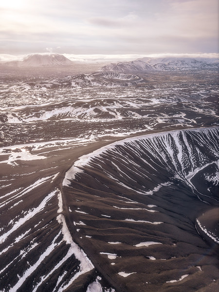 Hverfjall vertical drone sunrise morning.jpg