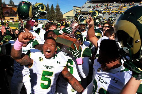 CSU vs. Wyoming Football 2013