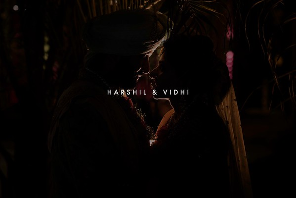 Harshil and Vidhi | Ahmedabad 2019