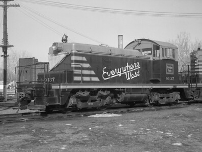 CB&Q—Diesel Locomotives (Switchers)