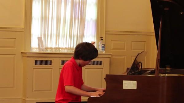 Piano Recital May, 2018