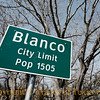 Title: Blanco City Limits<br /> <br /> Comments: <br /> <br /> Location: Blanco
