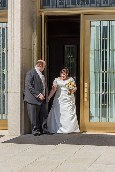 August 2015 - Tom and Sarah Wedding