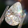 2.61ct Antique Pear Cut Diamond GIA I SI1 4