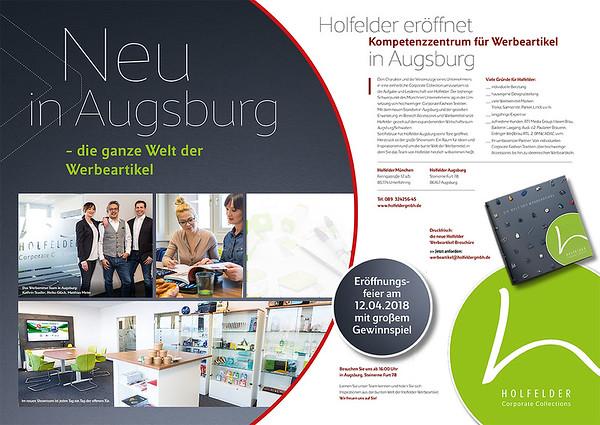 Holfelder eröffnet in Augsburg