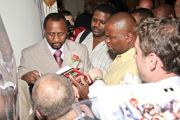 7 Time World Champion Thomas Hearns Hall Of Fame 2012