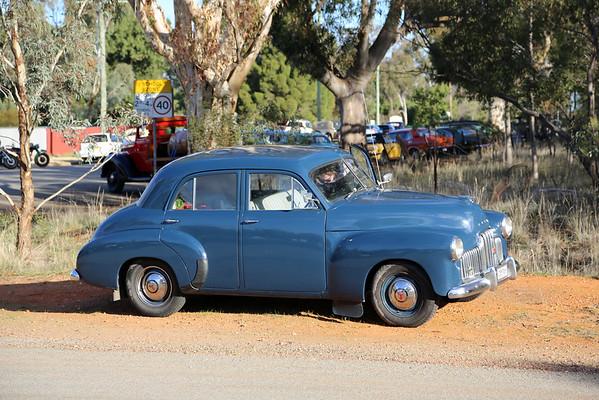 Saturday - At Marrah.  Wagga Wagga Vintage and Veteran June Rally 2013.