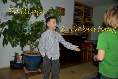 Philipps 8.Geburtstag