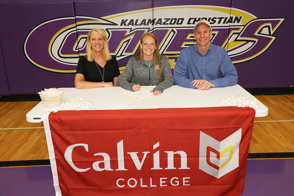 Signing Day Soccer Kayla Beebe KCHS 4/16/19