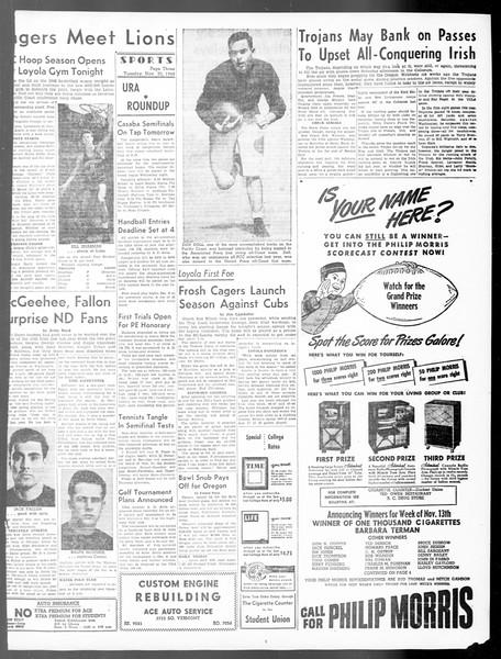 Daily Trojan, Vol. 40, No. 54, November 30, 1948
