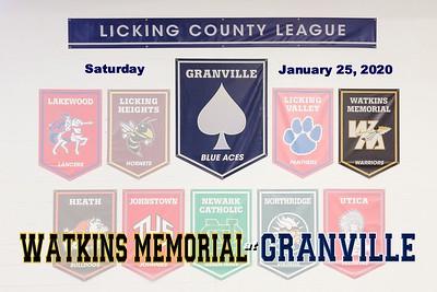 2020 Watkins Memorial at Granville (01-25-20)