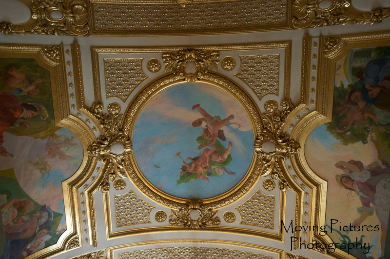 Stockholm - Opera House, another ceiling detail