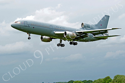 Flying British RAF Lockheed L1011 Tristar Airplane Pictures