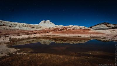 Paria Plateau at night