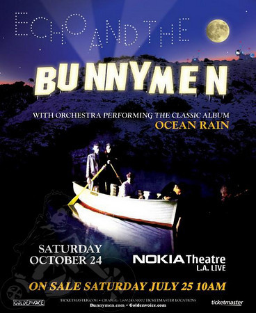 Echo and The Bunnymen - She Wants Revenge - at Nokia Theater - Los Angeles, CA - October 24, 2009
