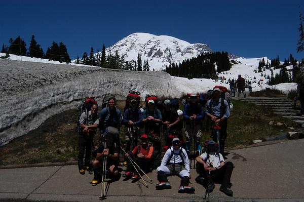 Mt. Rainier Fuhrer's Finger June 15-20, 2004