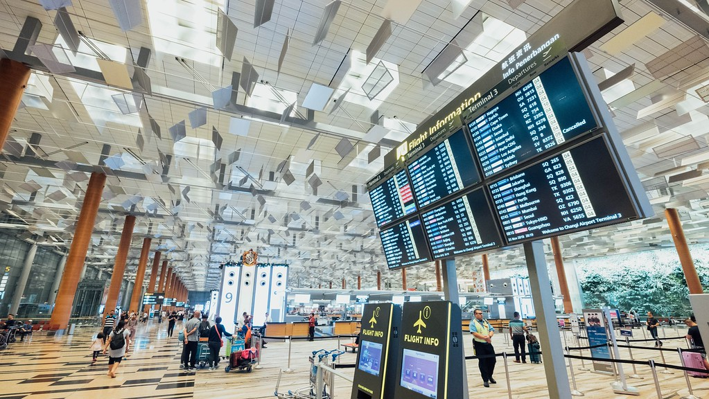 Airport terminal : EU flight delay compensation