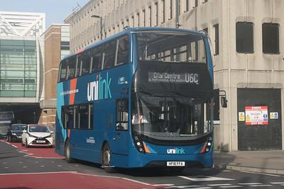 1217, HF18FFA, Unilink (Bluestar), Bargates, Southampton