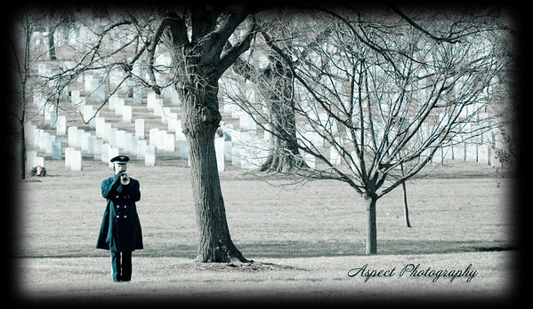 Lucke Family Funeral at Arlington National Cemetary