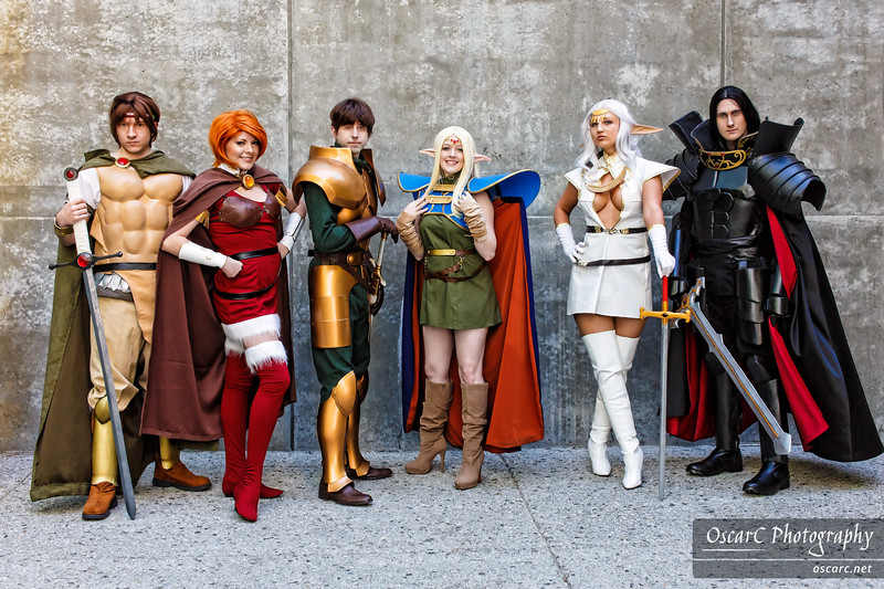 Shiris (Kapalaka), Orson (Cobheran), Parn (Neal Bom Bao), Ashran (Sozokureed), Deedlit (Toastersix), Pirotess #1 (anonymous_proxy), Priotess #2 (Etaru) from Record of Lodoss War