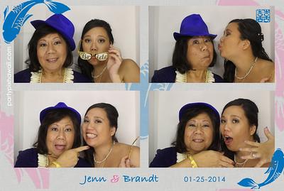 Jenn & Brandt's Wedding (Luxury Photo Booth)