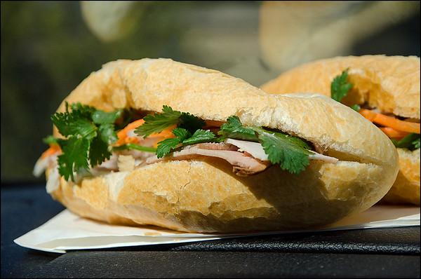 'Classic Pork' bánh mì - $5