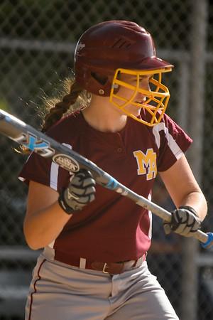 Jefferson High Varsity vs. Menlo-Atherton Girl's Softball, 2015-04-28