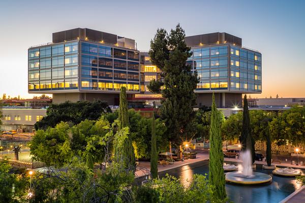 New Stanford Hospital Sunset Photos Hi Res