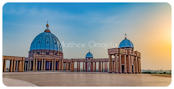 Basilica of Our Lady of Peace Yamoussoukro Ivory Coast West Africa