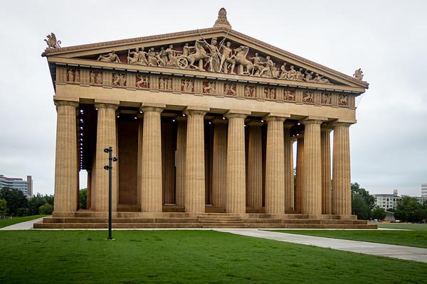 Parthenon West Face