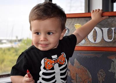 2015 10 Oliver Babysitting Papa & Grandma