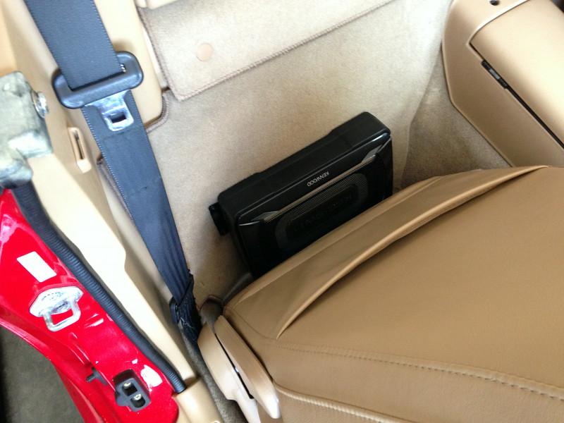 Passenger seat reinstalled