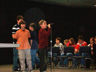 Daisy Brook Activities - 2007-2008 - 1/15/2008 Spelling Bee