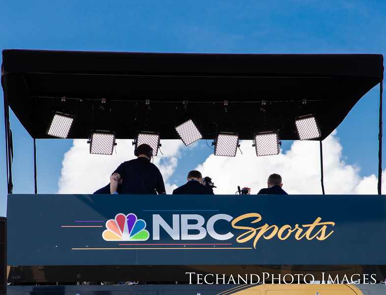 NBC Sports at The Firestone Grand Prix of St Petersburg held on Sunday  March 10th