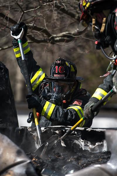 Millis, MA 109 Truck fire 3/17/2021