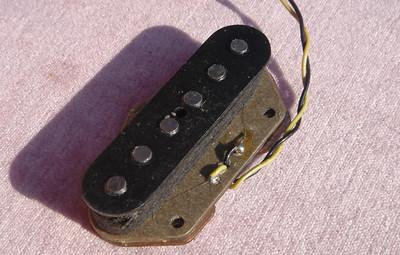 482- 1972 Fender Telecaster bridge pickup 6.24 Ohms