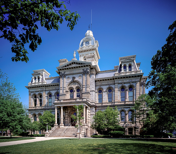 Shelby County Courthouse.
