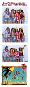 9/21/18 Mission Hills H.S. Senior Luau Photo Booth Photo Strips