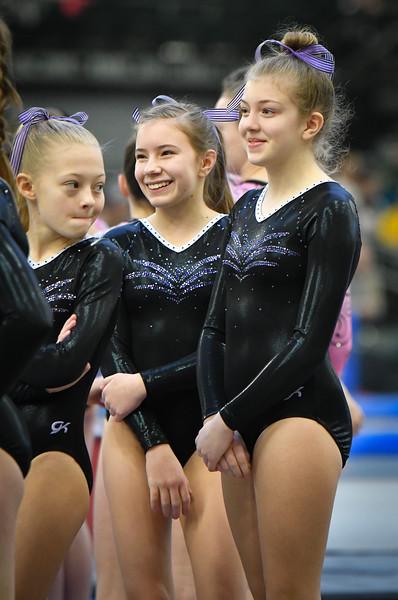 Mya's Gymnastics Meet 1-20-19