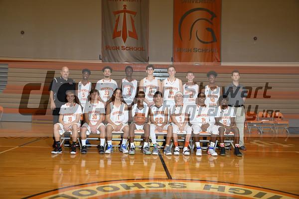 University Boys JV Basketball 1-7-19