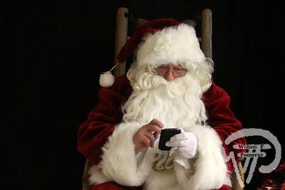 Santa portraits . . .
