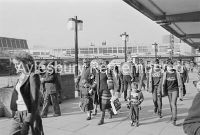 Sunday Opening story, Friars Square, Feb 1982