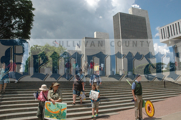 Albany Anti-Fracking Rally 2013