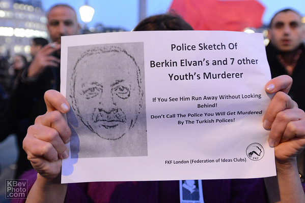 Berkin Elvan Rally in London (Mar 14)