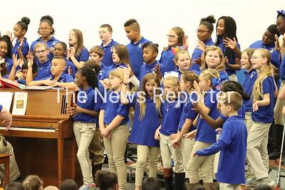 Edgewood Elementary School Chorus at WPS