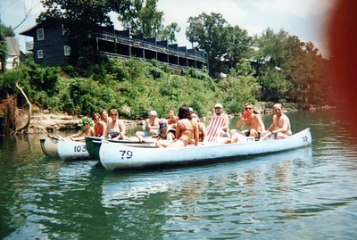 7-29-1995 CFI Float Trip @ Elk River, Missouri