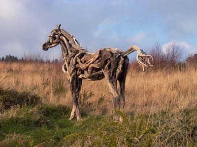 Art from Driftwood