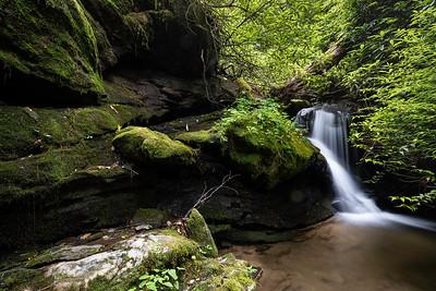 Lower Falls on Upper Duncan Branch