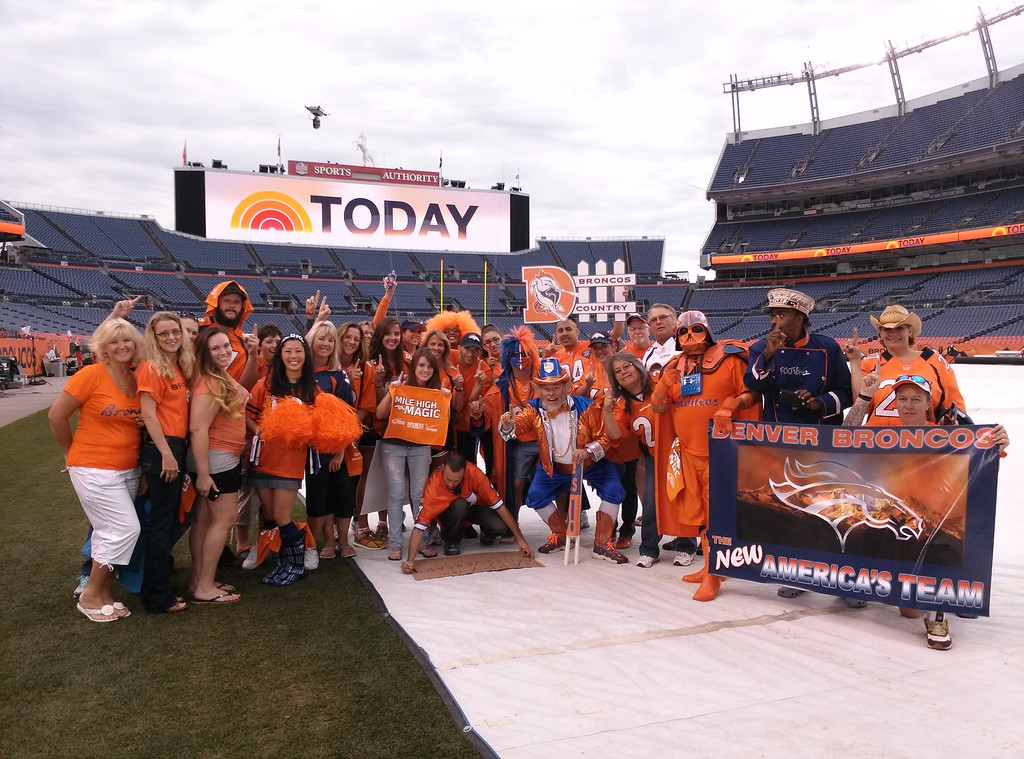 . Today Show at Mile High. Photo by Tammy Quon